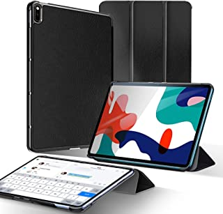 A-VIDET HUAWEI MatePad 10.4 ケース 超薄型 最軽量 スタンド機能付きケース HUAWEI MatePad タブレット対応 (ブラック)