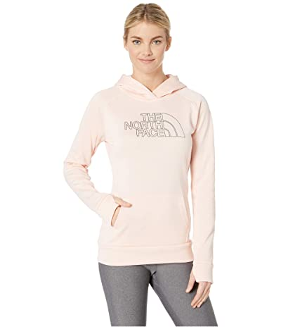 The North Face Fave Half Dome Pullover 2.0 (Pink Salt Heather/TNF Black) Women