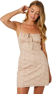 Lulu And Rose Women's Vera Dress Cotton Fitted Elastane