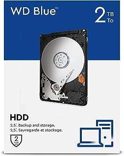 WD Blue 2TB 2.5 pulgadas Disco Duro Interno, Clase de 5400 rpm, SATA 6 Gb/s, 128MB Cache