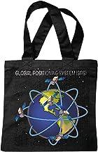 Reifen-Markt Bolsillo Bolso Bolsa SISTEMA DE POSICIONAMIENTO GLOBAL GPS satélite de tierra de espacio Espacio ASTRONAUTA ROBÓTICA Bolsa de deporte Bolsas de Negro