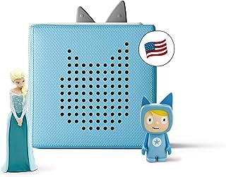 Sponsored Ad - tonies Toniebox Blue Starter Set with Elsa from Disney`s Frozen - Imagination-Building, Screen-Free Digital...
