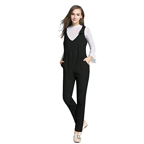 05c865407df3 JOYNCLEON Womens Maternity Overalls Adjustable Back Zip Opening Jumpsuits  Casual Pants for Pregnant Women
