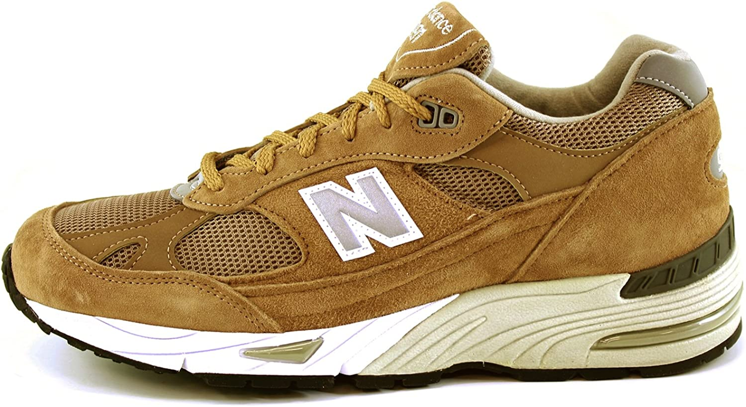 New Balance 991 Limited Edition Sneaker in pelle Beige Size: 45 ...
