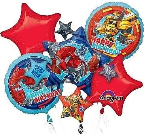 wholesape barato Transformers Birthday Balloon Bouquet Combo Mylar Foil Foil Foil Balloon by Winner International  connotación de lujo discreta