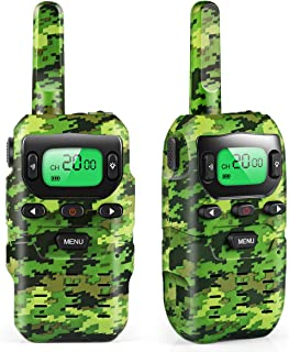 Car Guardiance Walkie Talkies for Kids, Toys for 3-12 Year Old Boys 22 Channel 3 Mile Long Range Kids Toys & Kids Walkie Talkies, & Top Toys for 3 4 5 6 7 8 9 Year Old Boy & Girls