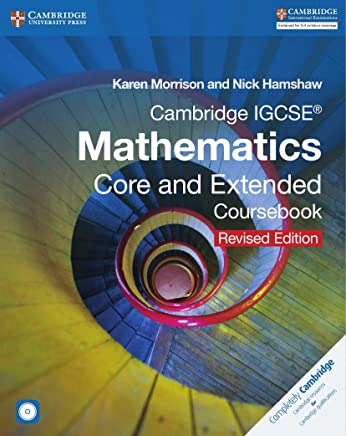 Cambridge IGCSE Mathematics Core and Extended Coursebook with CD-ROM [Lingua inglese]