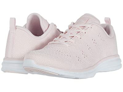 Athletic Propulsion Labs (APL) Techloom Pro (Bleached Pink/Metallic Pearl/White) Women