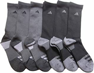 adidas Men's Athletic Crew Socks (6-Pack) (Shoe Size 6-12