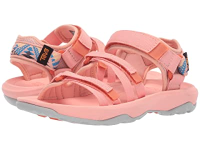 Teva Kids Hurricane XLT2 Alp (Little Kid/Big Kid) (Apricot Blush) Girls Shoes