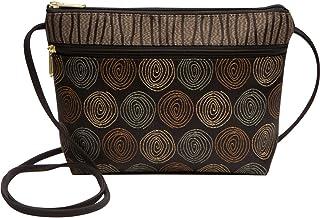 c9108669b5 Danny K Women s Tapestry Zipper Purse Crossbody Handbag