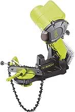 Sun Joe 24V-CSSHRP-LTE 24-Volt 2.0-Ah Cordless Chainsaw Sharpener, Green