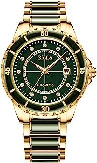 Luxury Men's Watches Automatic Mechanical Movement Self Winding Dress Watch Waterproof Jade &...