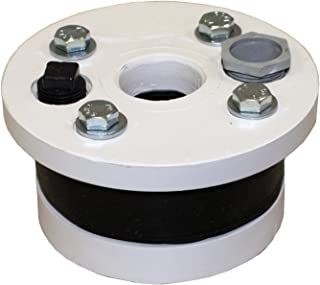 Merrill MFG WS450100P WSP Series Plastic Well Seals, Single Drop Pipe and Solid Top Plate, 4-1/2