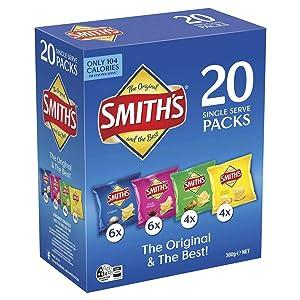 Smiths Crinkle Variety 20 Pack 380g