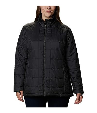 Columbia Plus Size Carson Pass IC Jacket (Seminole/Black/Shark) Women