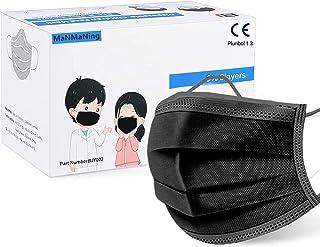 MaNMaNing Niños Infantil con Elástico Negro 50 Unidades para Los Oídos 20200723-MANING-NM50
