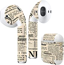 Airpods Skin + Case Skin Sticker Skin Decal for airpod Compatible with AirPods 1st(2016) and 2nd(2019) Stylish Covers for Protection & Customization 010548 English Text Retro