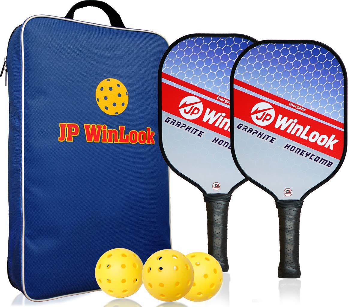 JP WinLook 2 Pickleball Paddles - Graphite Lightweight USAPA