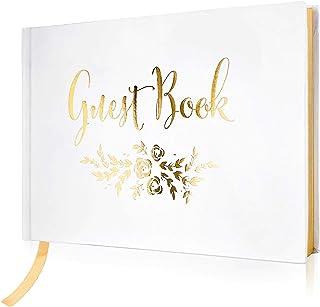 Bridal Shower Gift Smaller Small Size Wedding Guest Book Alternative Guestbook 45 Guests 12x12 Modern Unique Wedding Keepsake Poster /_01