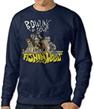 Men's Bowling For Soup Punk Band Crew Neck Hooded Sweatshirt