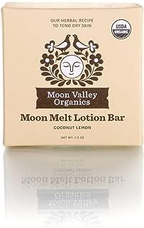 Moon Melt Lotion Bar-Coconut Lemon