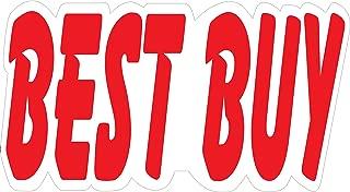 Ez-line Vinyl Number Slogans for Car Lots 2 Dozen Large Windshield Decal Stickers Dealership Numbers (Best Buy)