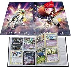 Pokemon Card Holder, Pokemon Card Album, Pokemon Binder for Cards Album Book Best Protection for Pokemon Trading Cards GX EX Box(Ho-Oh and Solgaleo)