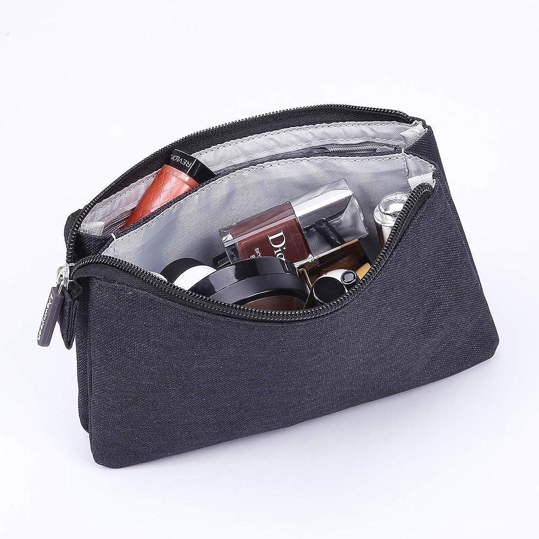 ボクシングユーモア杖Rownyeon 化粧ポーチ メイクポーチ クラッチバッグ 小型 財布 インナー コスメポーチ 大容量 機能的 小物入れ シンプル 小物ケース 携帯用 普段使い 人気