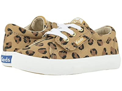 Keds Kids Jumpkick (Toddler/Little Kid) (Leopard) Girl