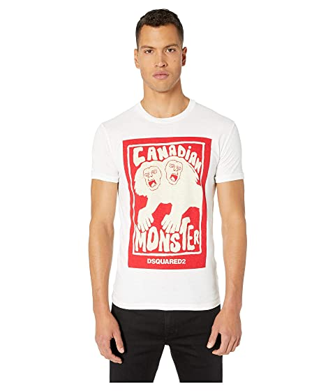 DSQUARED2 Canadian Monster Chic Dan Fit T-Shirt