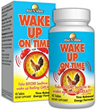 Rise-N-Shine Wake Up On Time - Time Release Energy Supplement