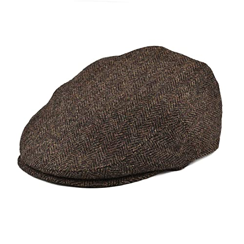 ab0dd506729 BOTVELA Men s 100% Wool Flat Cap Classic Irish Ivy Newsboy Hat