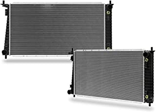 CU1831 2-Rows Radiator Replacement for ford Expedition F-150 F-250 1997 1998 V8 4.6l V6 4.2L