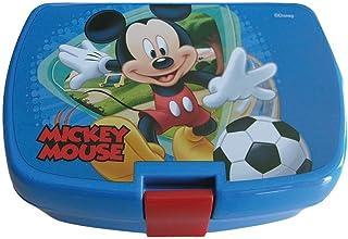 GUIZMAX Boite /à go/ûter Mickey Mouse Enfant Bleu Hey