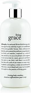 Philosophy Living Grace Firming Body Emulsion for Unisex 16 oz Body Emulsion