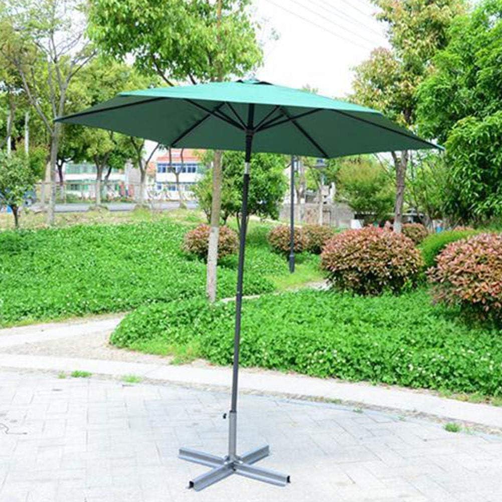 Happymore 6 bracce copertura superiore per ombrellone da giardino mantiene fresco impermeabile Copertura di ricambio per ombrellone anti-ultravioletto 2 m