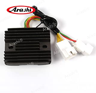 Arashi Voltage Regulator Rectifier for HONDA RVT1000 2001 2002 VFR800 02-09 Motorcycle Replacement Accessories RVT 1000 VFR 800 Black 2003 2004 2005 2006 2007 2008 2009