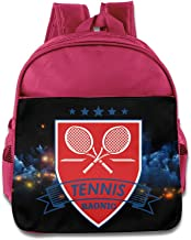 Children Raonic Tennis Racket School Bag (2 Color:Pink Blue)