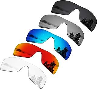 SmartVLT Set of 5 Men's Replacement Lenses for Oakley Batwolf Sunglass Combo Pack S01