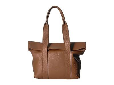 Shinola Detroit Cass Tote (Cognac) Handbags