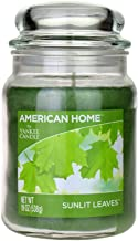 Yankee Candle Scented Fragrance Candles American Home Colllection Luxury Classic Large 19oz Glass Jar 538g[Sunlit Leaves],...