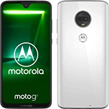 motorola moto g7 6.24-Inch Android 9.0 Pie UK Sim-Free Smartphone with 4GB RAM and 64GB Storage (Dual Sim) – White (Exclusive to Amazon)