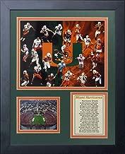 11x14 MIAMI HURRICANES GREATS RAY LEWIS ED REED SEAN TAYLOR 8X10 PHOTO FRAMED