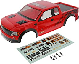 HPI 1/10 Crawler King RED Ford F-150 SVT Raptor Body Shell, Decals, & Clips