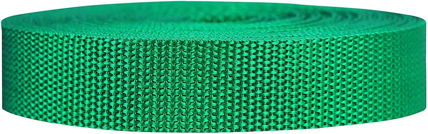25 Strapworks Heavyweight Polypropylene Webbing Over 20 Colors or 50 Yards Heavy Duty Poly Strapping for Outdoor DIY Gear Repair 2 Inch by 10