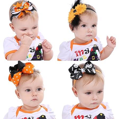 Halloween Headband Infant Headband Holiday Headband Baby Headband Newborn Headband Halloween Baby Headband Baby Baby Girl Headband