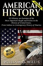 American History: US History: An Overview of the Most Important People & Events. The History of United States: From Indians to Contemporary History of America