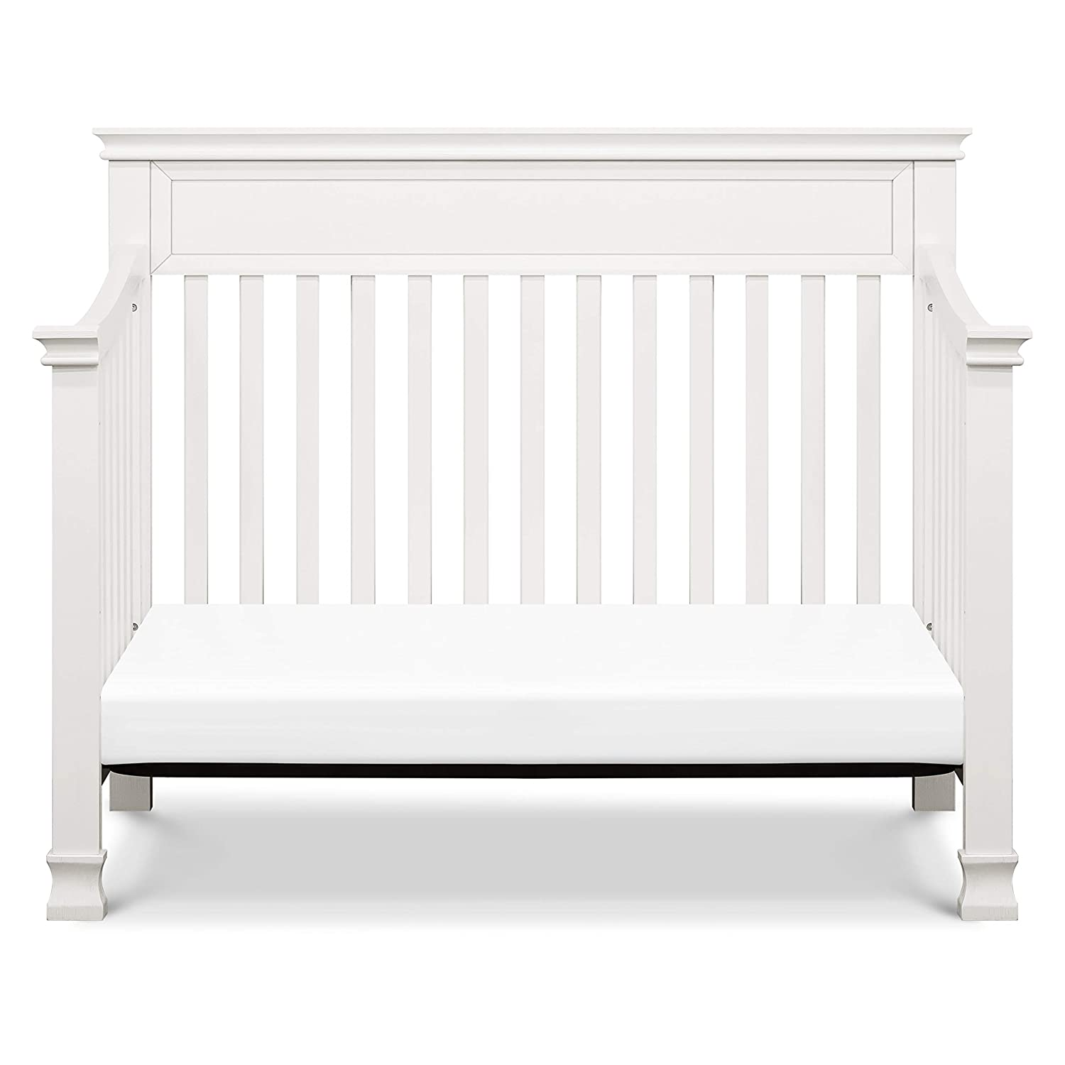 Million Dollar Baby Classic Foothill 4-in-1 Convertible Crib in Cloud Grey