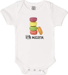 Little Macaron Organic Cotton Baby Bodysuit